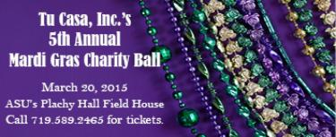 5th Annual Mardi Gras Charity Ball was a smashing success!